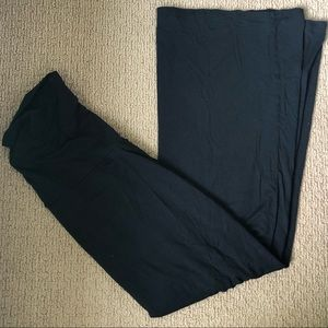 GAP maternity black maxi skirt